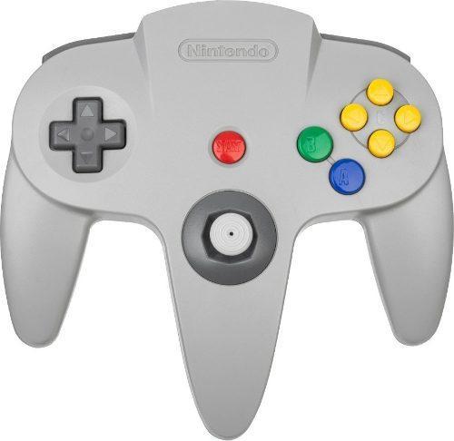 Control Original Color Gris Classic Nintendo 64