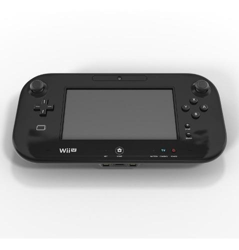 Gamepad Control Para Wii U + Cargador + Forro Como Nuevo