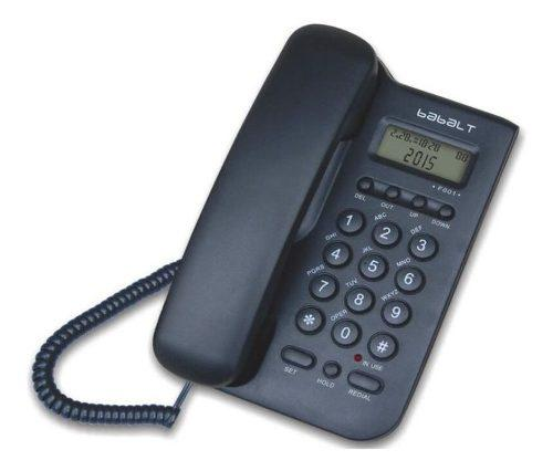 Pack D 12 Telefono Fijo Alambrico Babalt Lcd Caller Id Cantv