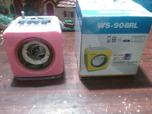 Radio Portátil Sidonio A Bateria