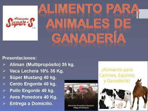 Alimento Para Animales De Ganadería