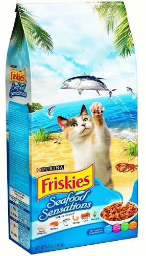 Gatarina Alimento P/gatos Friskies Seafood Sensations 3k