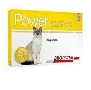 Pipetas Power Ultra Para Gatos De Hasta 4 Kg