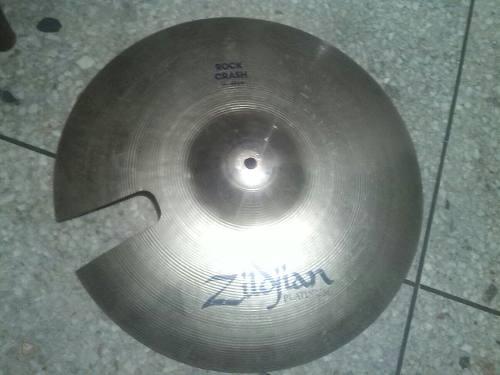 Zildjian Platinum Rock Crash 16 Pulgadas Reparado