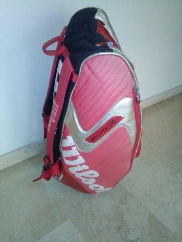 Bolso Wilson Especial Para Raquetas De Tenis.