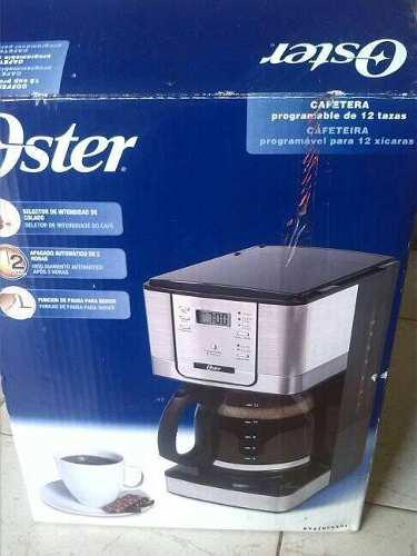 Cafetera Oster Programable 12 Tasas