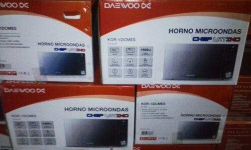 Horno Microondas Daewoo 39 Litros 1500w Tipo Espejo 1.4 Pies