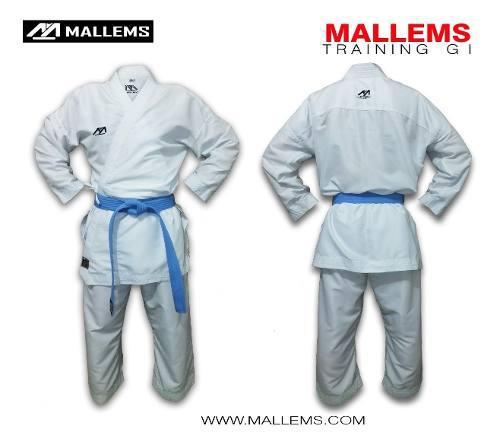 Karategi Kimono De Entrenamiento Liviano Mallems 2 / 1.40mt