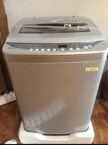 Lavadora Automática 12 Kg Color Gris Oferta
