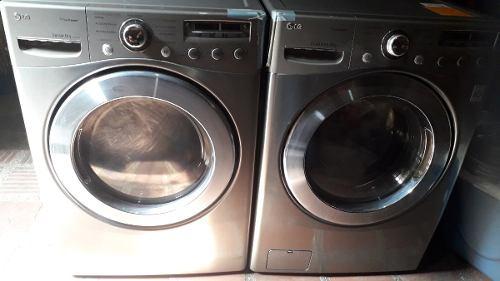 Lavadora Y Secadora Lg, 16k, Como Nuevas!!