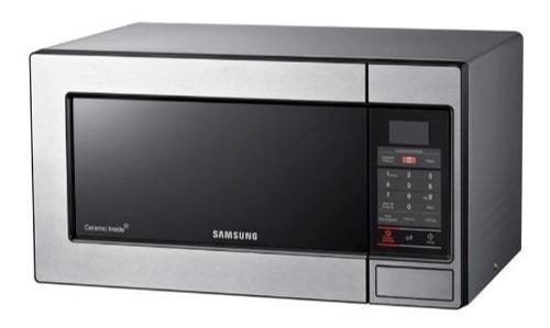 Microondas Samsung Cromado De 0.8 Litros. Nuevos