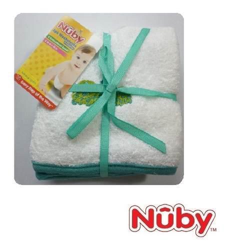 Set De 3 Pañitos O Toallitas Para Bebe / Buchero Nuby