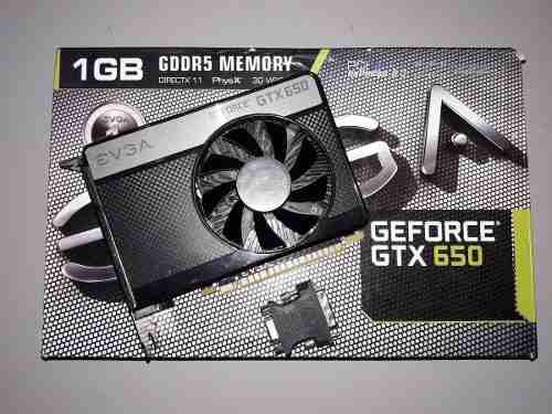 Tarjeta De Video Evga Nvidia Geforce Gtx 650 1gb Gddr5