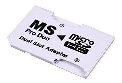 Adaptador Micro Sd A Memory Stick Pro Duo Psp