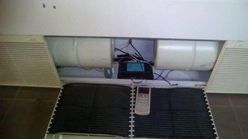 Aire/acondicionado Piso Techo 5 Ton/60btu Usado