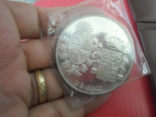 Antigua Moneda De Plata De 65 Gramos Ley 900