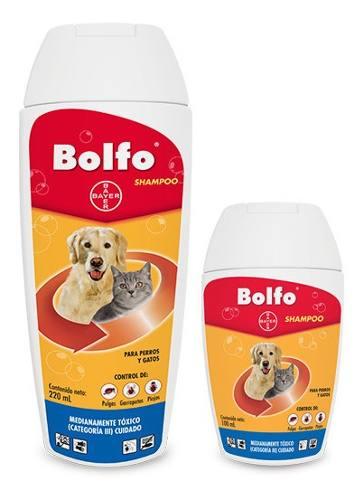 Champú Antipulgas Bolfo De Bayer Para Perros Y Gatos