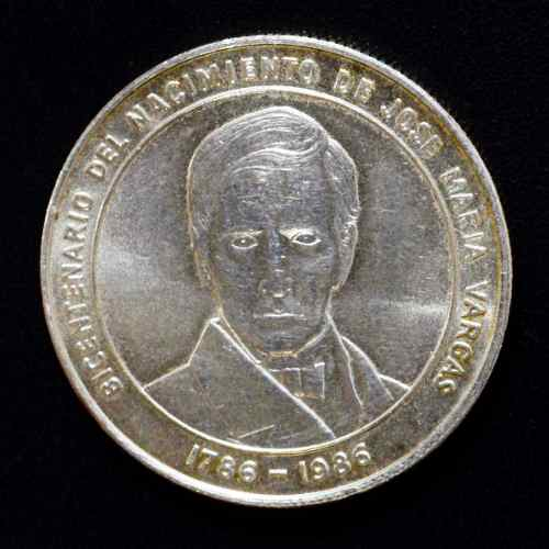Moneda 100 Bs. Conmemorativa Del Natalicio De J M Vargas