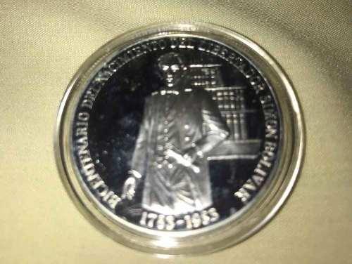 Moneda Del Bicentenario Del Nacimiento Del Libertador Sb
