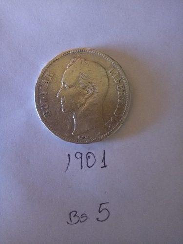Moneda Venezolana De Bs 5 Para Colección