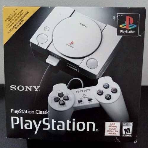 Playstation Classic Sony , Nuevo De Paquete, Garantía