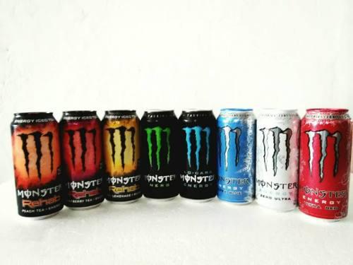 Bebida Monster Energy 16 Oz (473 Ml) Sabores Surtidos