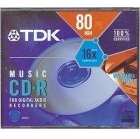 Cd Audio Digital Tdk, Para Grabadores De Audio.