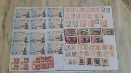 Colección De Estampillas Y Timbres Fiscales De Venezuela