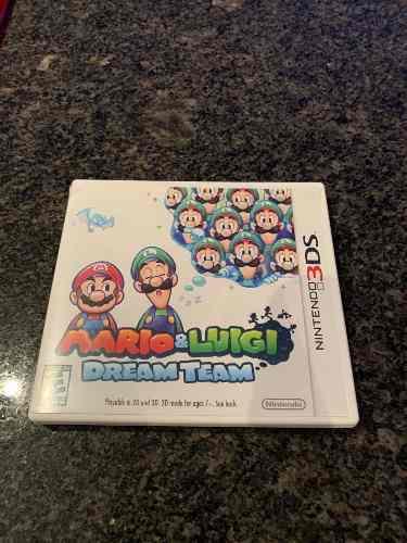 Juego Nintendo 3ds Mario Luigi Dream Team