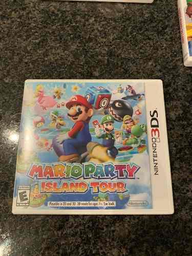 Juego Nintendo 3ds Mario Party Island Tour