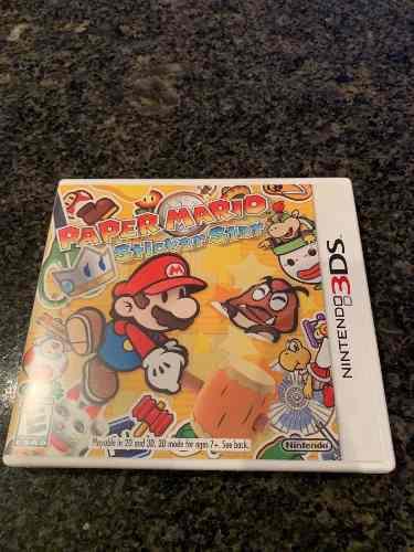 Juego Nintendo 3ds Paper Mario Sticker Star
