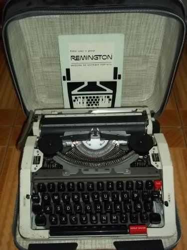 Maquina De Escribir Antigua, Remington