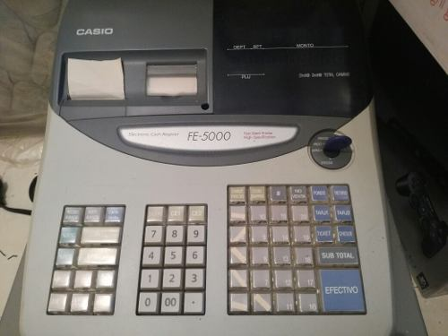 Maquina Fiscal Casio Fe Caja Registradora Casiow