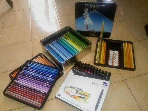 Prismacolor Premier Caja De 132 Colores + Marcadores