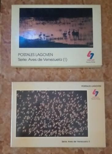 Sg2 Postales Lagoven, Aves De Venezuela Serie I Y Ii
