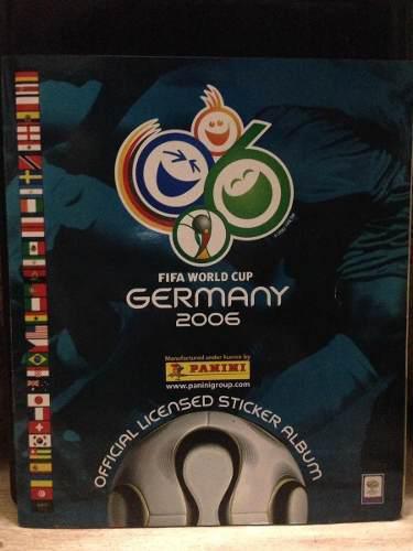 lbum Panini Mundial De Fútbol Alemania 2006 Lleno