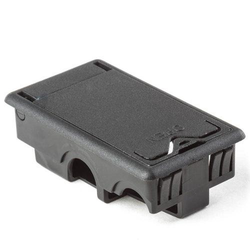 Caja De Bateria Negra Para Pedales Wah Jim Dunlop P-ecb-244