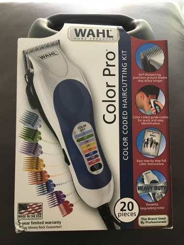Maquina De Afeitar Marca Wahl Color Pro 20 Piezas Original