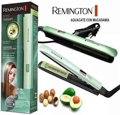 Plancha Remington Aguacate + Macadamia + Vitamina E Original