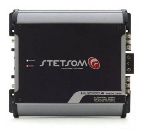 Amplificador Stetsom De 2.000 W Rms 4 Ch Modelo Hl-2000.4