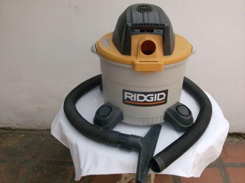 Aspiradora Ridgid Industrial 9 Galones Motor 3.5php
