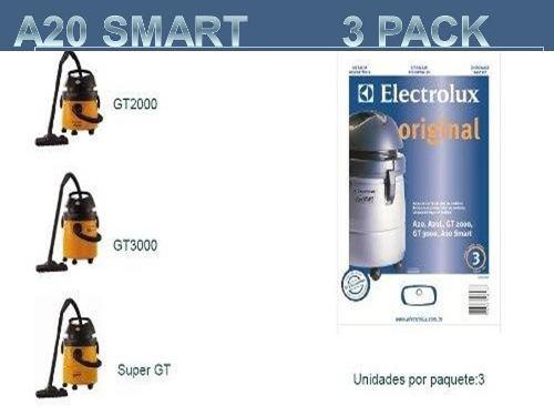Bolsas De Aspiradoras Electrolux A20, Gt, Tornado, Flex