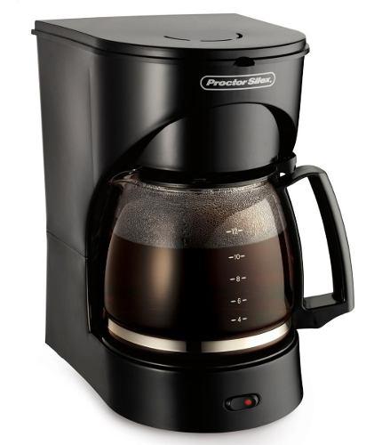 Cafetera Eléctrica Proctor Silex Negra 12 Tazas