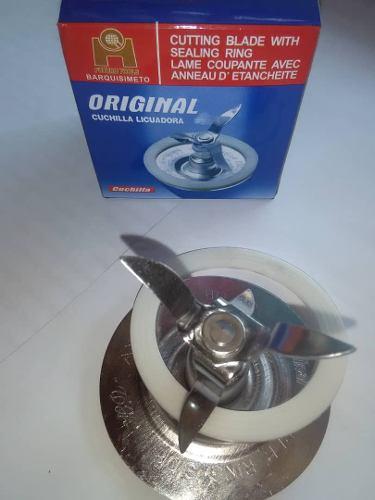Cuchilla Oster Licuadora Con Aro De Goma Acero