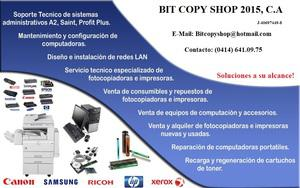 Mantenimiento y reparacion de Impresoras en Puerto la cruz