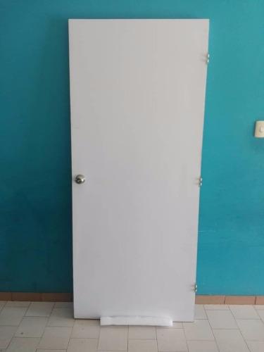 Puerta De Madera 0.89 X 210m Formica Con Cerradura De Pomo
