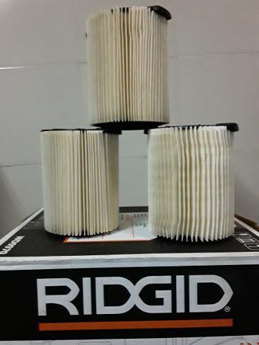 Ridgid Filtro Para Aspiradora