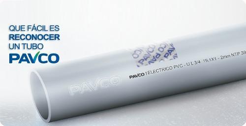 Tubo De Electricidad Pvc 1/2,1.1/2, 1-2-3 Pulgadas