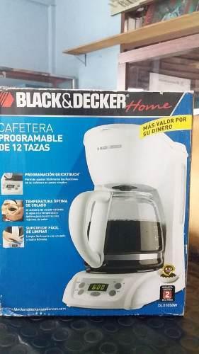 Cafetera Eléctrica Marca Black & Decker Para 12 Tazas
