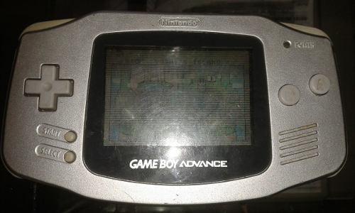 Gameboy Advance + Super Mario World: Super Mario Advance 2